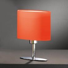 LED Tischleuchte YIMMI Stoffschirm orange