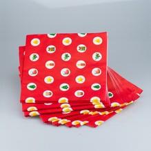 20 Servietten Weihnachten X-mas 3095 Papierservietten für Tischdeko 33 x 33cm 3-lägig Soft
