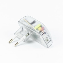 LED Steckertrafo 12V 6W in Transparent