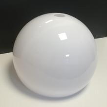 Kugel Lampenschirm weiß E27 für Bogenleuchte Ø35
