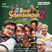 Burg Schreckenstein 2 -  Küssen (nicht) verboten, 2 Audio-CDs   Hassencamp, Oliver
