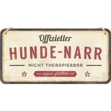 PfotenSchild Hängeschild- Hunde-Narr