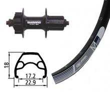 H-Rad 26x1.9 Alivio Disc 6-L.sz SSP 32L