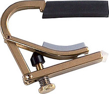 SHUBB Partial Capo Kapodaster C-8b Drop-D Tuning brass Messing