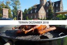 """Anmeldung/Gutschein für das Grillseminar """"Wintergrillen: Der Klassiker: Gans und Co."""" (Samstag, 08.12.18)"""