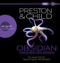 Obsidian - Kammer des Bösen, 2 MP3-CD   Preston, Douglas; Child, Lincoln