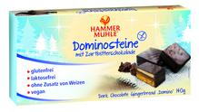 Hammermühle Dominosteine mit Zartbitterschokolade
