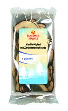 Hammermühle Vanille-Kipferl mit Zartbitterschokolade