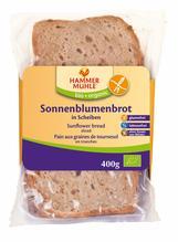 Hammermühle Bio Sonnenblumenbrot in Scheiben