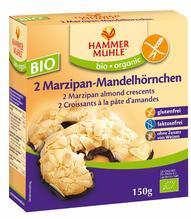 Hammermühle Bio Marzipan-Mandelhörnchen 2 Stück