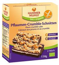 Hammermühle Bio Pflaumen-Crumble-Schnitten