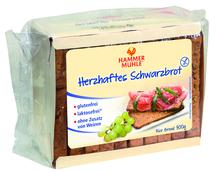 Hammermühle Schwarzbrot 10x50g