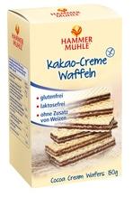 Hammermühle Kakao-Creme-Waffeln 150g