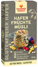 Hammermühle Hafer Früchte Müsli 375g