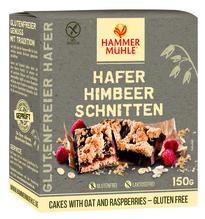 Hammermühle Hafer Himbeer Schnitten