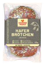 Hammermühle Hafer Brötchen 2 Stück