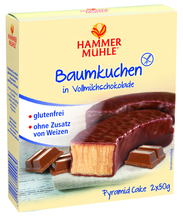 Hammermühle Baumkuchen in Vollmilchschokolade
