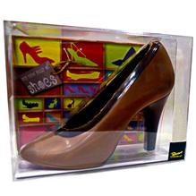 'Damenschuh' Vollmich-Schokolade, 125g