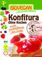 Biovegan Konfitura ohne Kochen