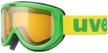 Skibrille Uvex Racer green