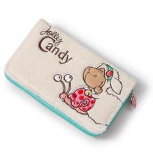 Nici Geldbeutel 'Jolly Candy' Plüsch, 16x9,5cm