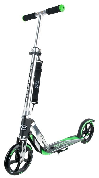 Scooter Big Wheel RX 205 bis 100 kg schwarz/grün