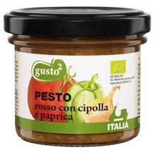 gusto² - Pesto rosso con cipolla e paprica