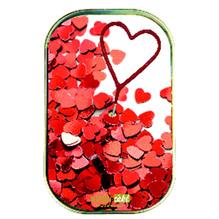 Wondercake® Kuchen in der Dose mit Wunderkerze 'Herzen', 52g