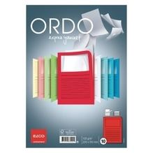 ELCO Sichtmappe Ordo classico 7369592 A4 rot 10 St./Pack