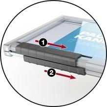DURABLE Kartenhalter PUSHBOX DUO 892119 10 St./Pack.