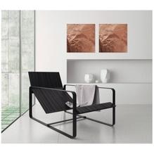 Sigel Magnetboard artverum GL265 480x480x15mm Glas Pure-Copper