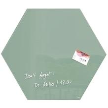 Sigel Magnetboard artverum GL281 400x460x15mm Smoky-Green