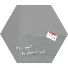 Sigel Magnetboard artverum GL280 400x460x15mm Smoky-Grey