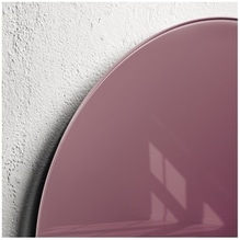 Sigel Magnetboard artverum GL292 400x15mm Smoky-Red