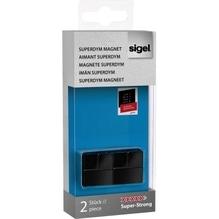 Sigel Magnet SuperDym C20  GL722 20x20x20mm sw 2 St./Pack.