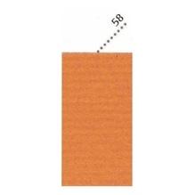 Clairefontaine Geschenkpapier 95758C 70cmx3m orange