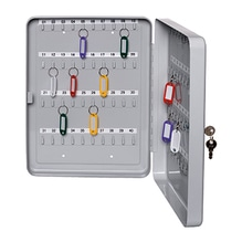 ALCO Schlüsselschrank 892 16x20x8cm für 40Schlüssel lichtgrau