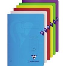 Exacompta Schulheft S'coolbook 303225CDIN A4 Lin25 16Bl. sortiert