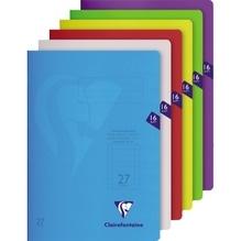 Exacompta Schulheft S'coolbook 303227CDIN A4 Lin27 16Bl. sortiert