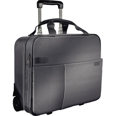 Leitz Notebooktrolley Complete 60590095 42x20x37cm silber grau