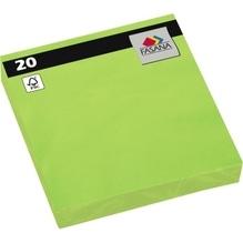 FASANA Serviette 221388 33x33cm 3lagig lime green 20 St./Pack.