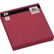 FASANA Serviette 221383 33x33cm 3lagig jalapeno red 20 St./Pack.