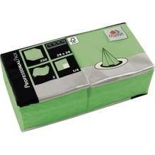 FASANA Serviette 221355 24x24cm 3lagig lim. grün 250 St./Pack.