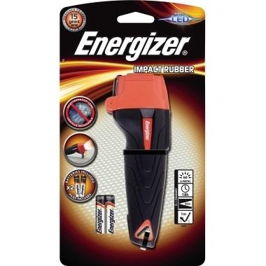 Energizer Taschenlampe Impact Rubber E300668400 2 AAA
