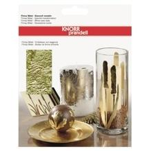 KNORR prandell Blattmetall 212411074 14x14cm gold 25 Bl./Pack.