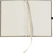 Notizbuch Leinen WWF160054S00 A6 blanko +Prägung