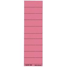 Leitz Beschriftungsschild 19010025 blanko 4zeilig rot 100 St./Pack.