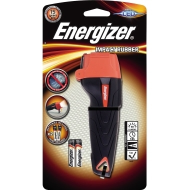 Energizer Taschenlampe Impact Rubber E300668400 2 AAA