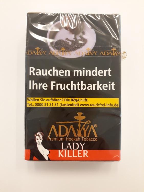 ADALYA Ladykiller, Wasserpfeifentabak, 50 g
