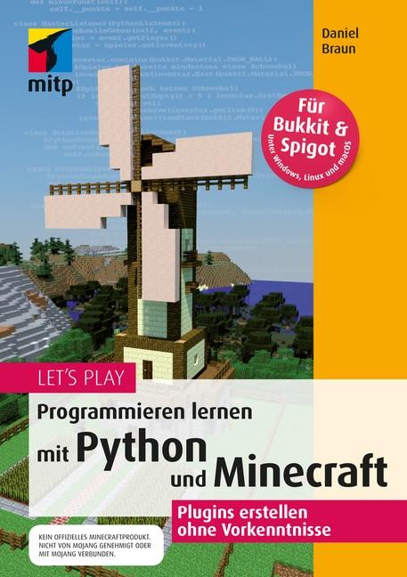 Lets Play Programmieren Lernen Mit Python Und Minecraft Braun - Minecraft haus bauen lernen
